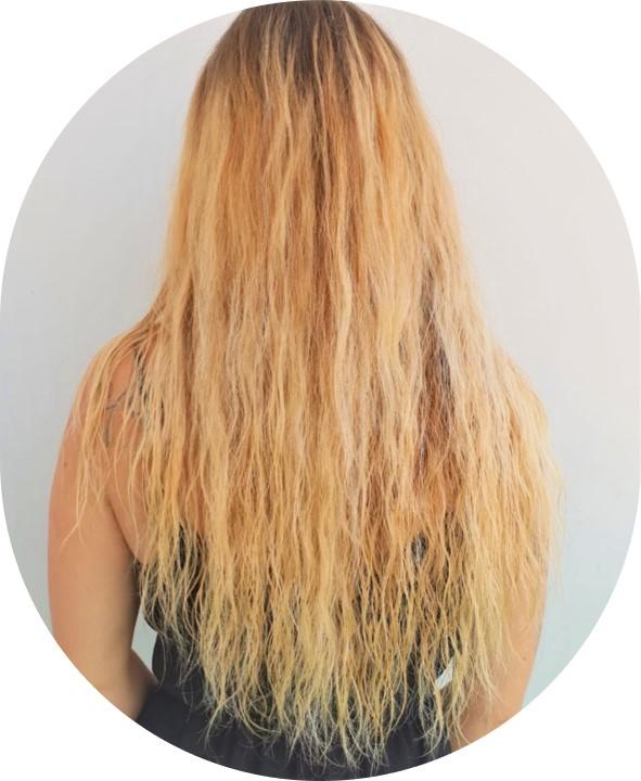 pousse long cheveux blonds aloe vera