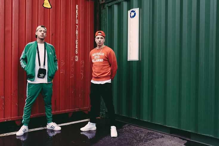 streetwear hypebeast hommes vert rouge